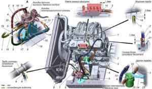 Снятие и установка газового редуктора, фильтра очистки газа, баллонного вентиля ГАЗель Next CNG 3.0.