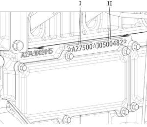 Идентификационные номера двигателей УМЗ-А275-100.