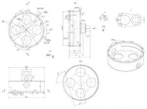 Ворот прижимного кольца модуля топливозаборника ГАЗель Next.