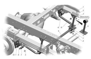 Задняя подвеска ГАЗель Next 4.6т. Руководство по ремонту.