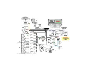 Схема подключения STAG-300Premium.
