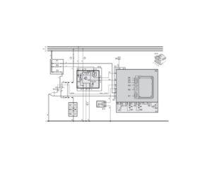 Webasto Thermo 50. Принципиальная электрическая схема подогревателя.