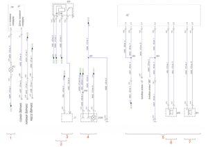Схема соединений преобразователя напряжения, розетки 12В, магнитолы КамАЗ-65111.
