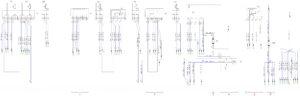 Схема соединений стеклоочистителя и стеклоомывателя КамАЗ-65111.