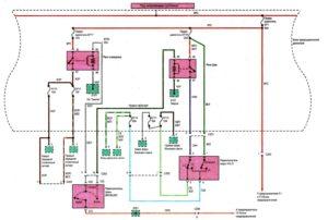 Схема электрооборудования (предохранителей, реле, выключателей, освещения) Chance/Sens.
