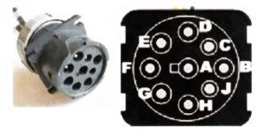 Диагностическая линия CAN и разъём OBD (распиновка). КамАЗ-5490.