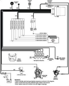 Схема подключения BRC Sequent ALBA 32.