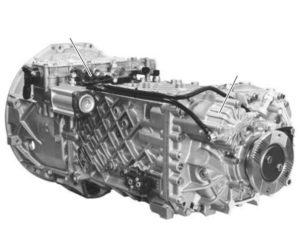 Коробка передач ZF-Ecosplit. КамАЗ-5490. Руководство по эксплуатации.