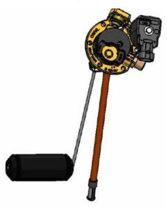 Мультиклапан AT-02 для баллона с СНГ (сжиженным нефтяным газом) OMVL. Технические характеристики изделия.