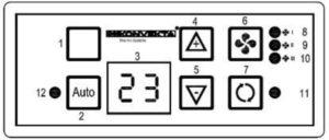 Konvekta KL30/KL30T KK2. Operating Instruction.