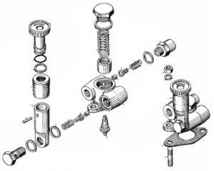 Топливные насосы высокого давления моделей 323-10, 324-10, 327 и их модификации в комплекте с форсунками. Каталог деталей и сборочных единиц.