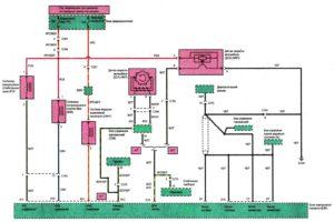 Схема подключения БЭК (блока электронного контроля) Chance/Sens 1.3, 1.6л. DOHC.