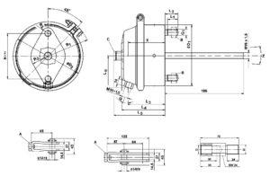 Описание компонентов тормозных систем Wabco.