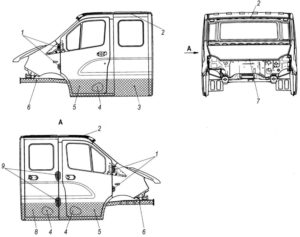 Особенности технического обслуживания кабины ГАЗель Next 4.6т.