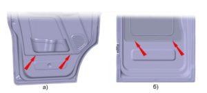 Снятие и установка обивки двери ГАЗель Next 4.6т.