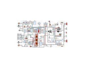 Схема УАЗ-390995, -220695, -396255 Буханка. Инжектор.
