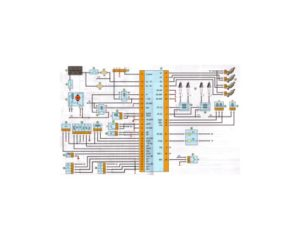 Схема системы управления двигателем УАЗ-390995, -220695, -396255 Буханка.
