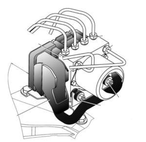 Автомобили ГАЗель с АБС серии 8.1 фирмы Bosch. Руководство по техническому обслуживанию и ремонту тормозной системы.
