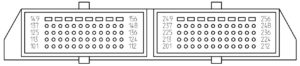 Схема ЭСУД М17.9.7 Евро-4 с ДАД УАЗ Патриот.