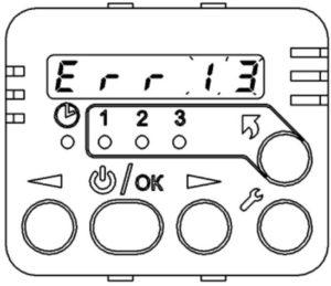 Коды неисправностей пультов управления ПУ-20-12В, ПУ-20-24В (BINAR-5S).