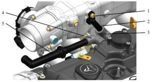 Системы впуска воздуха, выпуска отработавших газов и вентиляции картера двигателей ЗМЗ–409051.10 и ЗМЗ–409052.10 («ZMZ PRO»).