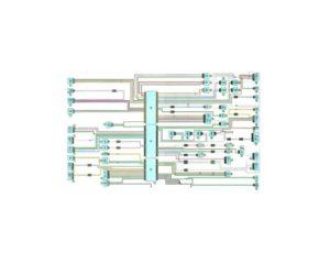 Схема системы управления двигателем Рено Дастер с 2011 года (К4М).