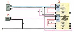 Схема подключения электромагнитной муфты кондиционера Рено Дастер 2017 год.