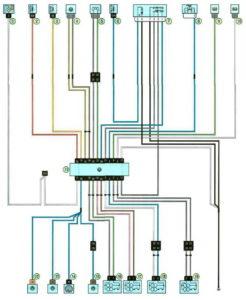 Схема системы управления полным приводом Рено Дастер с 2011 года.