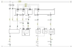 Схема подключения электрического и пневматического звуковых сигналов МАЗ-5440.