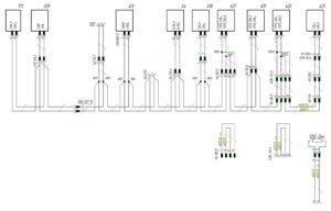 Схема подключения шины CAN J1939 МАЗ-5440.