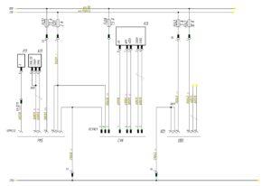 Схема подключения диагностических разъёмов МАЗ-5440.