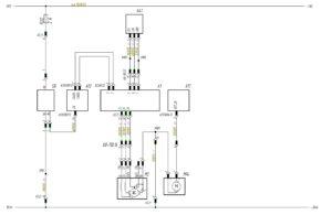 Схема подключения стеклоочистителя и стеклоомывателя МАЗ-5440.