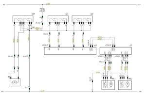 Схема подключения электрического люка и солнцезащитной шторки МАЗ-5440.