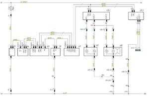 Схема подключения фонарей заднего хода и стоп-сигнала МАЗ-5440.