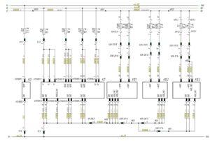 Схема электропитания и адресации системы управления электрооборудованием Actia МАЗ-5440.