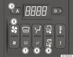 Управление микроклиматом МАЗ 5340M4, 5550M4, 6312М4 (Mercedes, Евро-6).