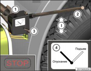 Подготовка к движению МАЗ 5340M4, 5550M4, 6312М4 (Mercedes, Евро-6).