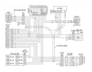 Электрооборудование АБС для ЭБУ 0486109211 630 0 631228-3700001 ЭЗ автомобилей МАЗ семейства 6430.