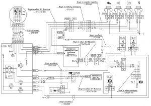 Подключение датчиков по двигателю и коробке передач МАЗ-544018, 643018,650118 (Евро-3), МАЗ-534019, 544019, 630119, 650119 (Евро-4) с двигателями Mercedes OM501LAIII/18, OM501LAIV/4.
