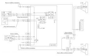 Схема системы задних противотуманных фар МАЗ-6430, двигатели ЯМЗ, MAN, Евро-1, 2, 3, БКА-3, 643008-3700001 И.