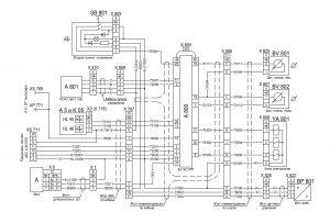 Электрооборудование ЭСУПП для ЭБУ 446 055 301 0 631228-3700001 ЭЗ автомобилей МАЗ семейства 6430.