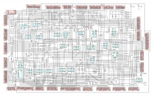 Схема электрическая принципиальная БКА4-М МАЗ-6312В9.