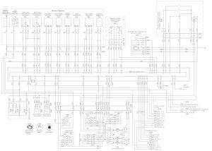 Схема ЭСУД ЯМЗ-6561, ЯМЗ-6581на кабину нового образца МАЗ.